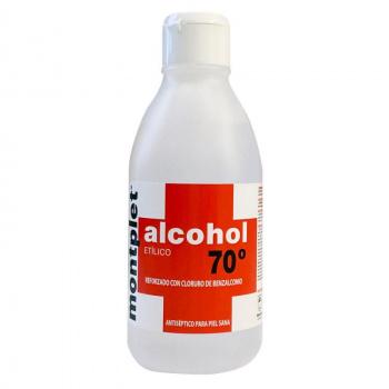 ALCOHOL 70º 250ML