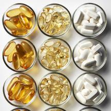 Vitaminas y complementos nutricionales