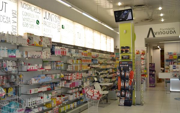 interior farmàcia