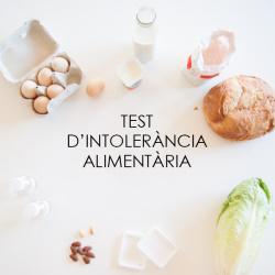 Test d'intolerància alimentària