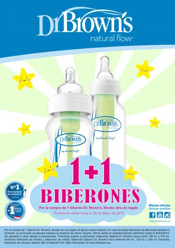 PROMOCIÓ BIBERONS DR BROWN'S 2X1!