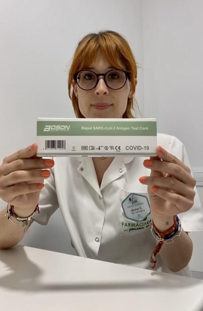 TEST RÀPID D'ANTÍGENS NASAL SARS-COV-2
