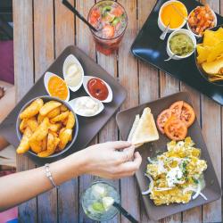 Revisión de menú para colectivos