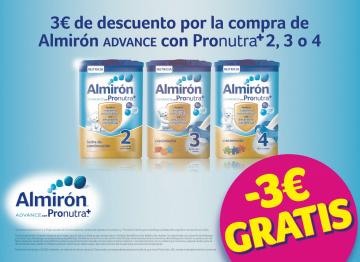 ALMIRÓN ADVANCE CON PRONUTRA: 3€ DE DESCUENTO