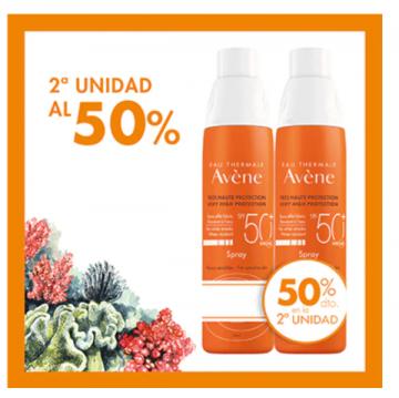 Avene spray adulto SPF 50+ 200ml