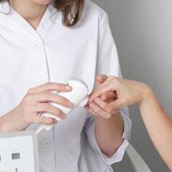 Análisis de uñas y color