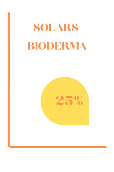 Solars Bioderma -25%