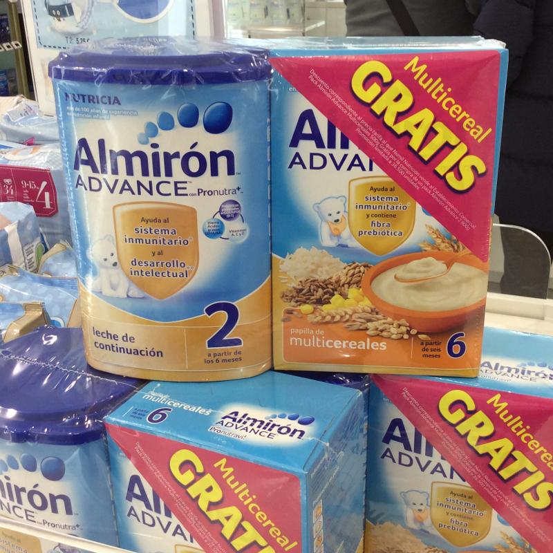 Promocion Almirón Advance