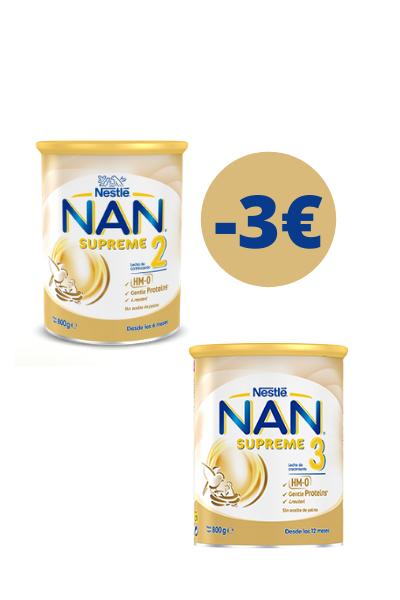 Descuento de 3 € en Nan Supreme 2 y Nan Supreme 3