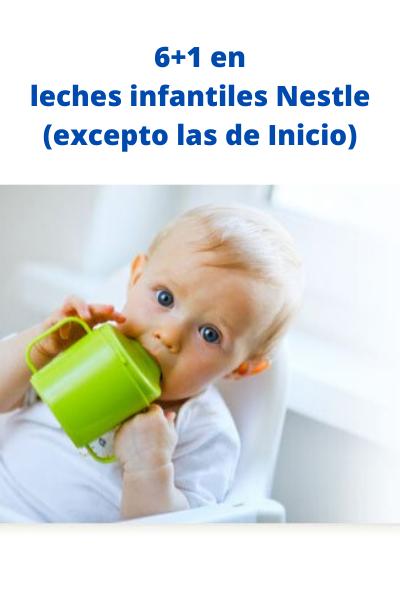 NESTLE LECHES INFANTILES 6+1 (EXCEPTO LAS DE INICIO)