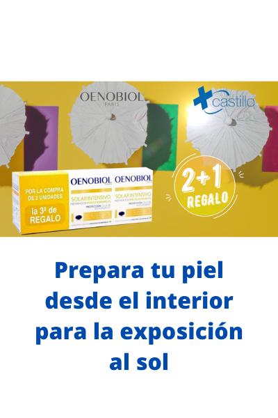 OENOBIOL SOLAR INTENSIVO PREPARADOR PIELES SENSIBLES 2+1