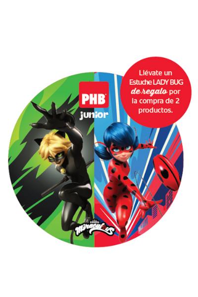 PHB Junior: Estuche Lady Bug de regalo por la compra de dos productos de la linea