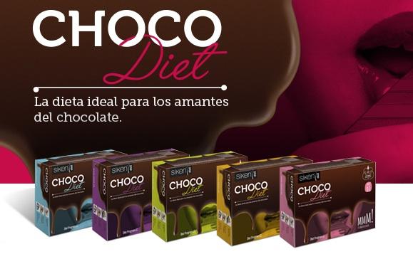 ¿Conoce la dieta del chocolate Chocodiet de Siken?
