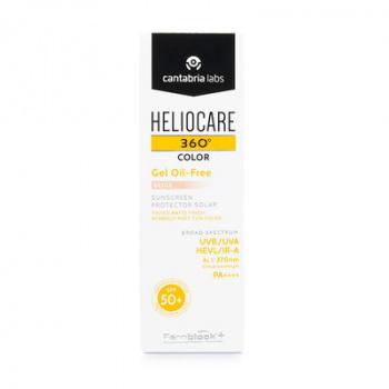 HELIOCARE 360 GEL OIL FREE BEIGE 50ml