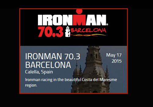 ¡Participa en la prueba de Triatlon Ironman 2015 en Calella! Un buen suplemento nutricional deportivo le pueden ayudar!