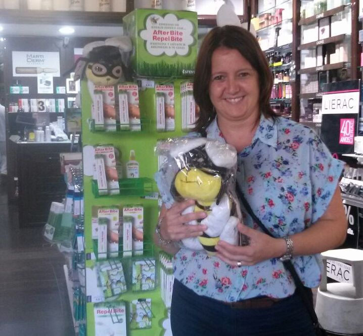 Ya tenemos ganadora Sorteo del abejonejo: nuestra clienta Marta Velasco