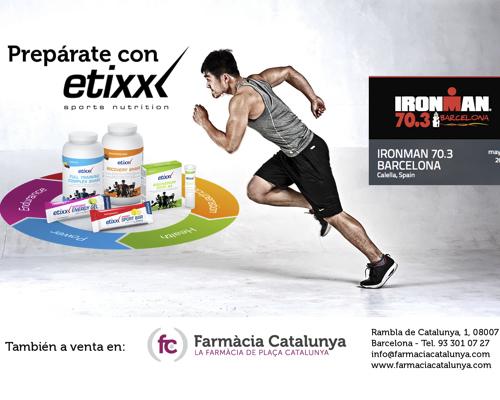¿Ya tiene su producto Etixx para la Triatlon Ironman 2015?