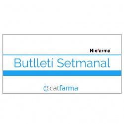 Boletín de Catfarma