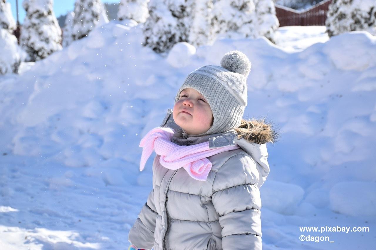 ¿Cómo proteger la piel de los peques del frío?