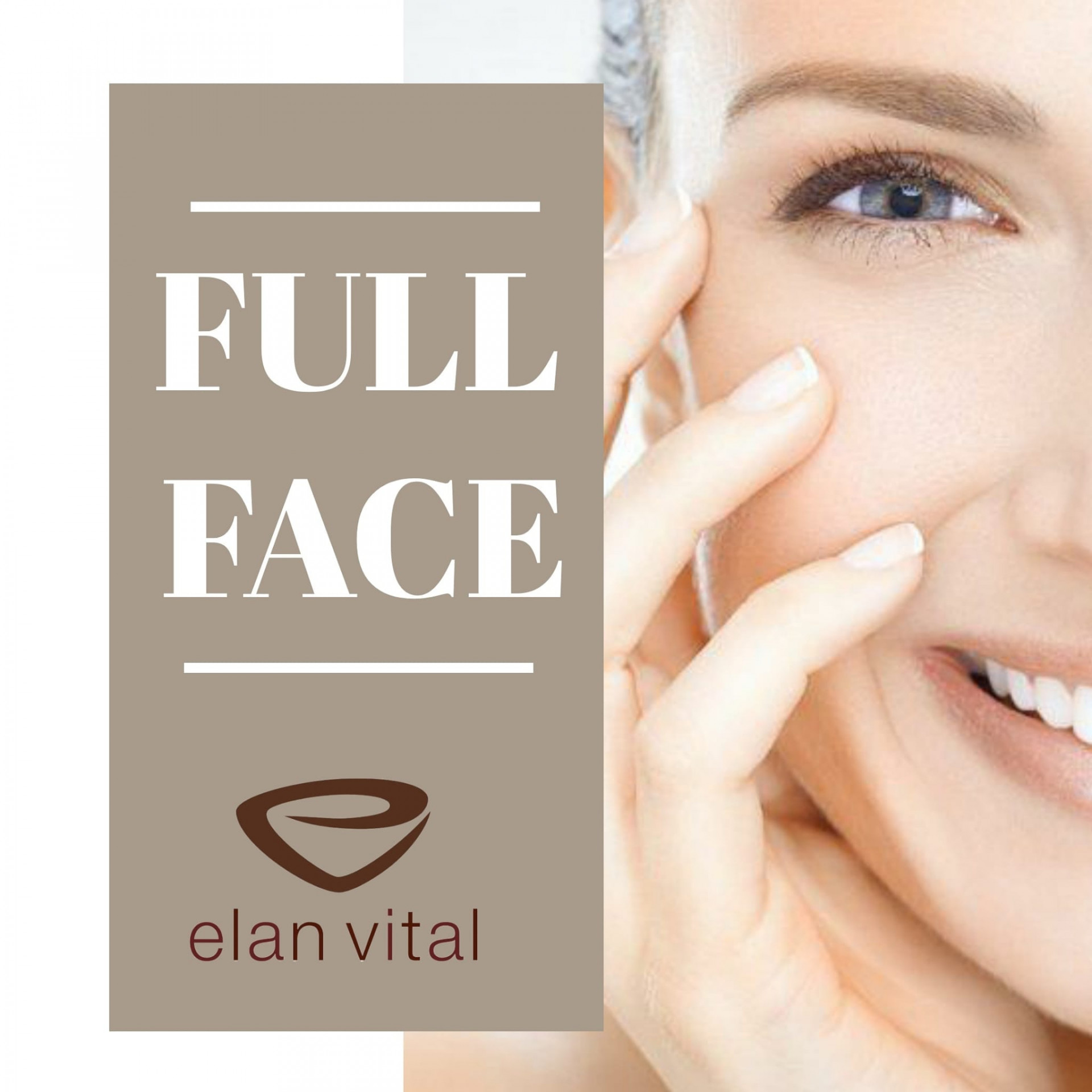 FULL FACE - Tractament integral facial a Elan Vital