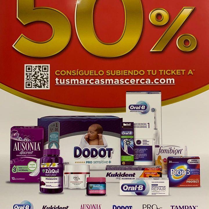 Tus marcas favoritas de reembolsan el 50%
