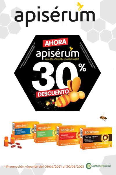 30% de descuento en Apiserum