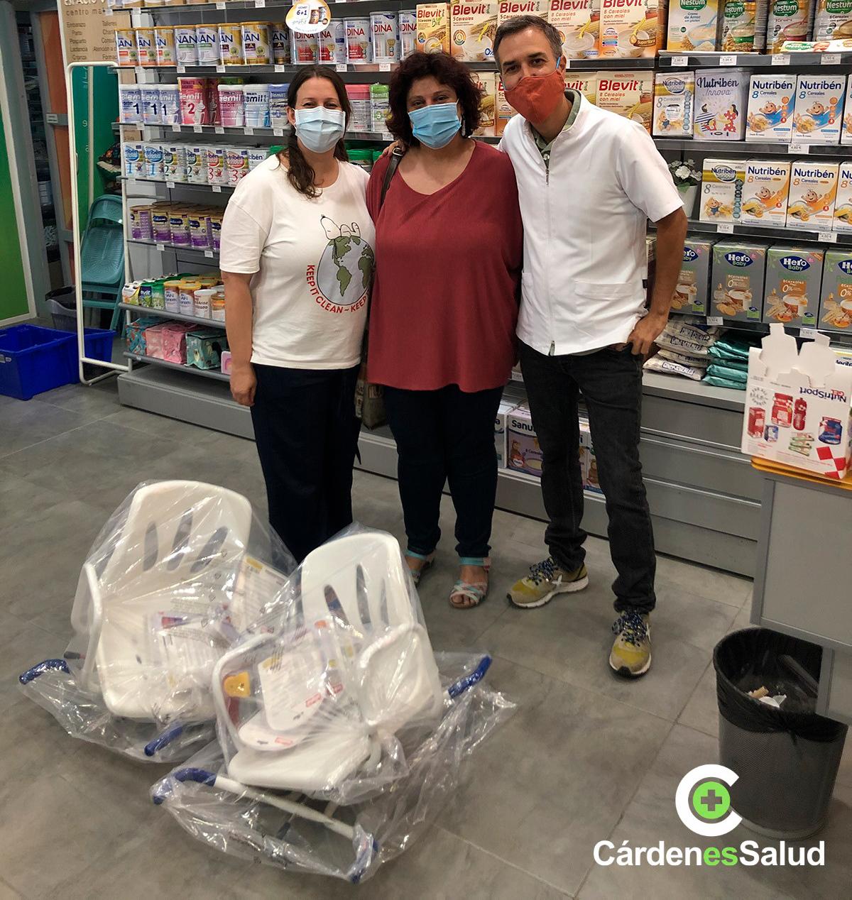 Donación solidaria para Cáritas