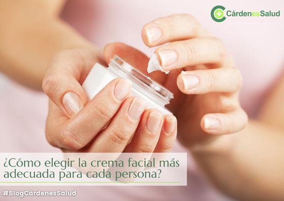 ¿Cómo elegir la crema facial adecuada para cada persona?