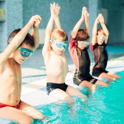 ¿Cómo proteger los ojos del cloro de los niños en verano?