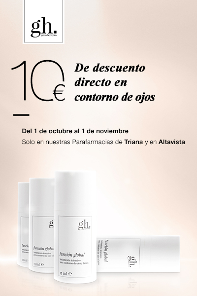 GH: 10€ dto. directo en contorno de ojos hasta el 1 de noviembre