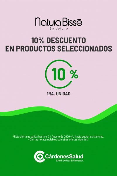 NATURA BISSE: 10% DE DESCUENTO EN PRODUCTOS SELECCIONADOS