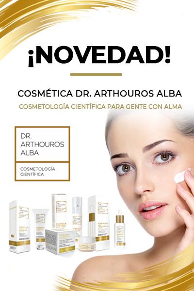 ¡NOVEDAD! COSMÉTICA DR. ARTHOUROS ALBA