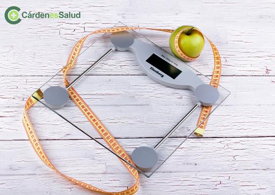 Control de peso con Cardenes bascula