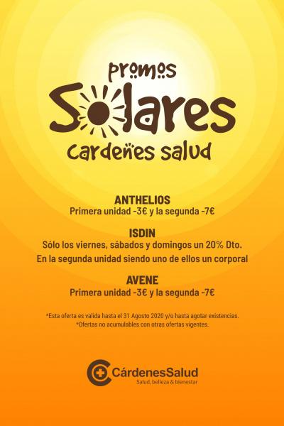 Protege tu piel en Agosto con las mejores ofertas en Solares