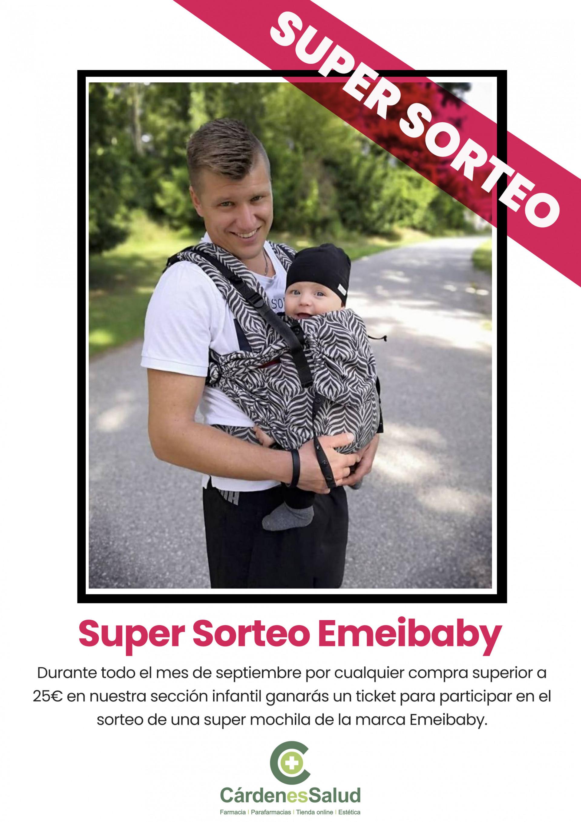 Sorteo Mochila portabebe EMEIBABY!