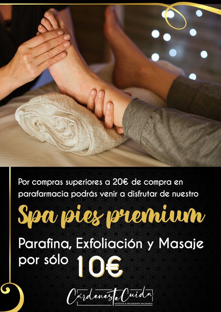 Spa de pies premium en nuestro Centro Tecuida por solo 10 euros