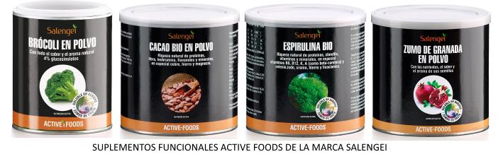 Alimentación funcional, suplementos funcionales