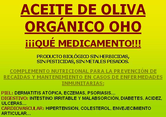 Aceite oliva OHO poster