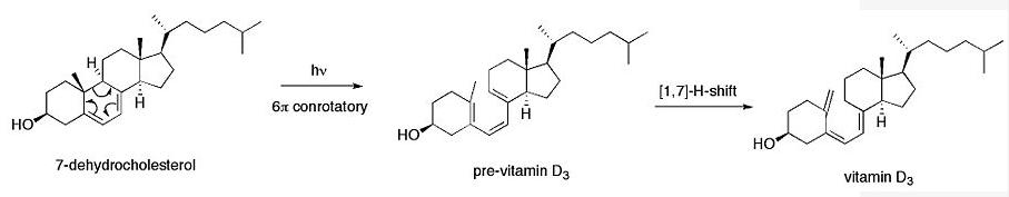 Paso de 7-dehidrocolesterol a pre-vitamina D3 02