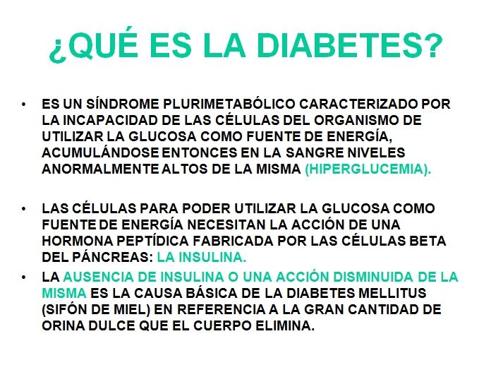 Qué es la Diabetes en 3 frases - Farmàcia Germana