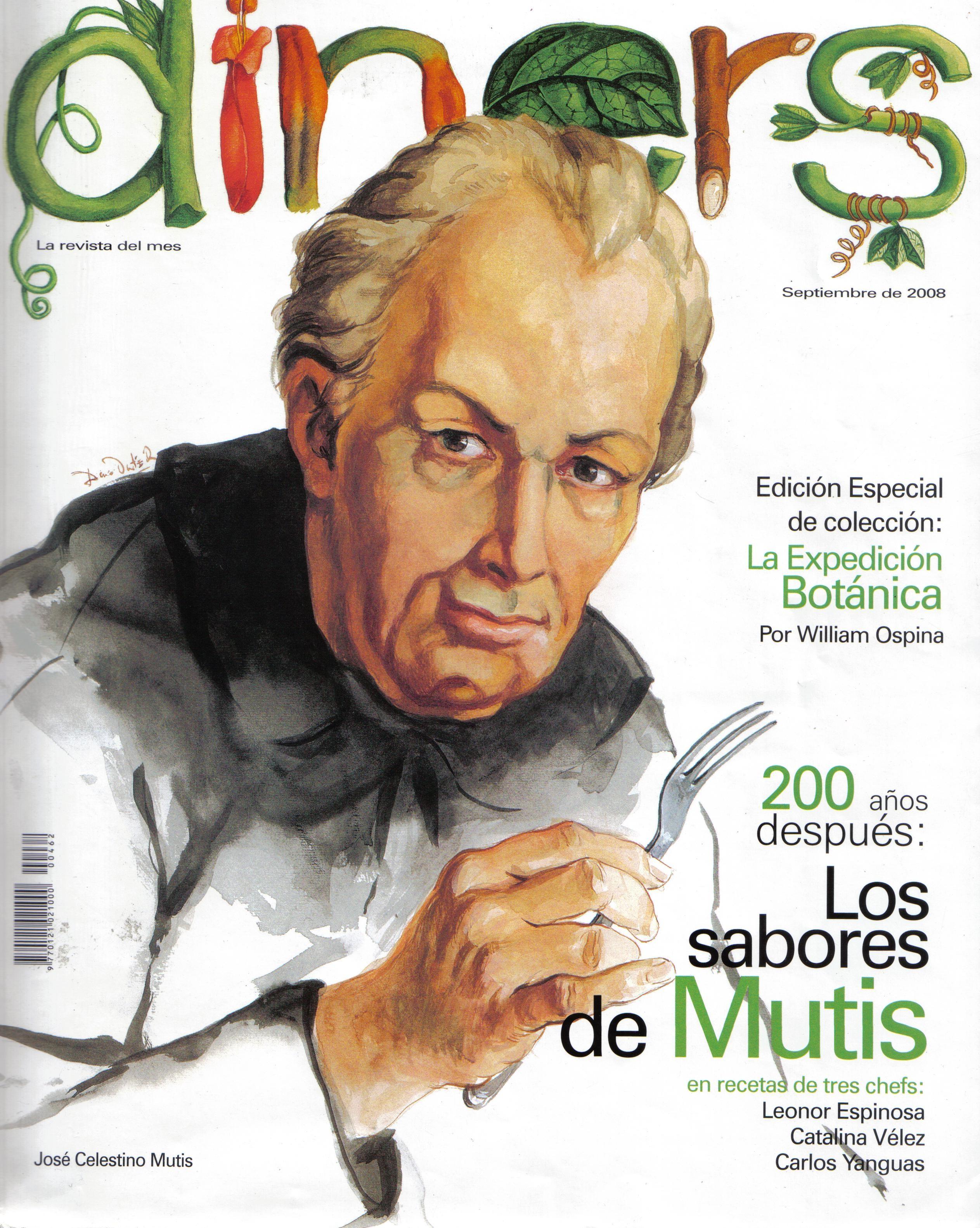 Expediciones botánicas: José Celestino Mutis, de la flora del Nuevo Reino de Granada a la independencia de Colombia.