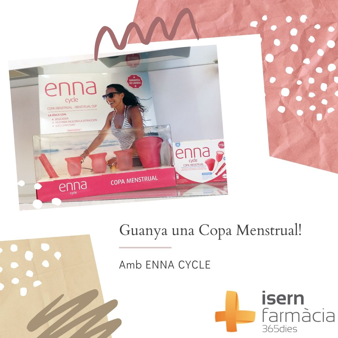 Guanya una copa menstrual Enna Cycle