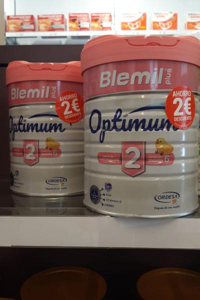Llets OPTIMUM 2 i 3 de BLEMIL amb descomptes