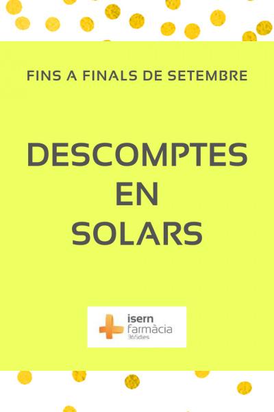 Promoció en Solars - Finals de l'Estiu