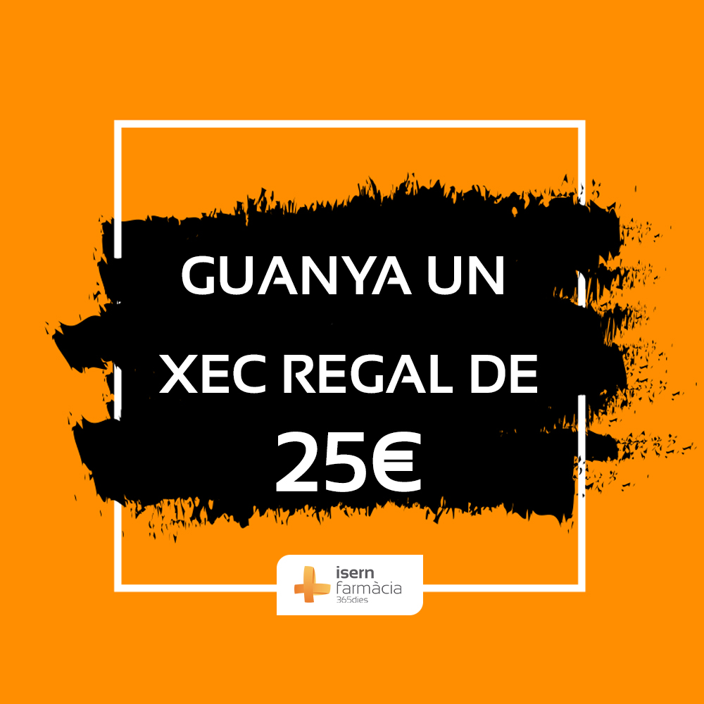 Sorteig de xecs regal de 25€