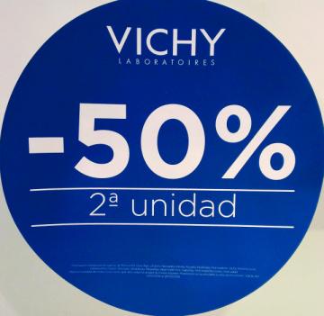 PROMOCIÓ VICHY 2ª unitat al 50%