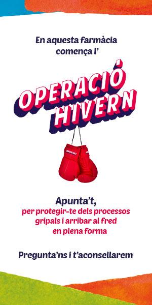 OPERACIÓ HIVERN, ARRIBA AL FRED EN PLENA FORMA