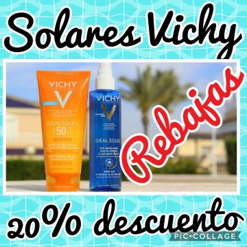 ¡¡REBAJAS!!  VICHY IDEAL SOLEIL 20% DESCUENTO