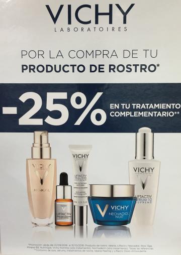 TRATAMIENTO COMPLETO VICHY -25% DESCUENTO