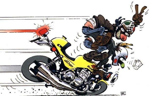 Vas amb moto? Cuida't bé!!